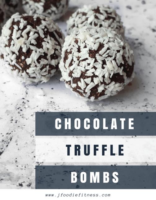 Chocolate truffle bombs