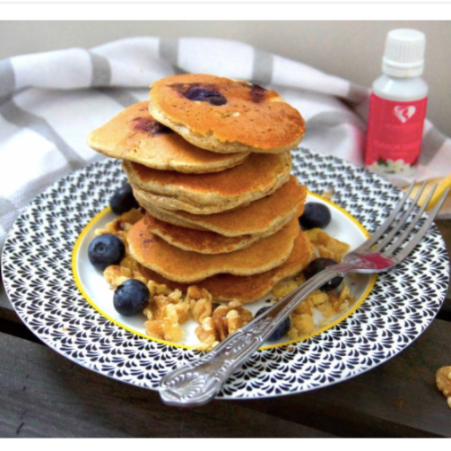 4 Ingredient Protein Pancakes